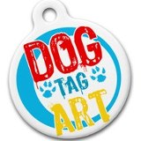 Dog Tag Art Lupine Ewephoria - DTA-