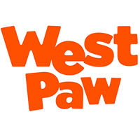 "West Paw Design Small Bumi Tug Toy (8"") - Tangerine"