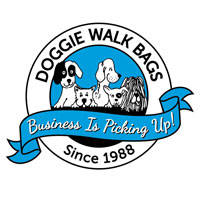 Doggie Walk - Grey Tie Handle Refill (Unscented)